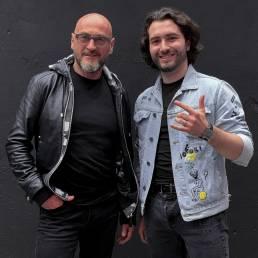 Jochen Schweizer with Sos Jr. at Jochen Schweizer Action Day, Influencer Event.